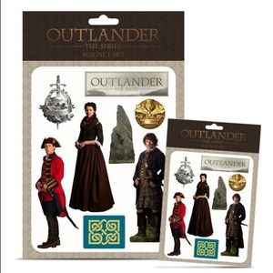 OUTLANDER OFFICIAL Magnets Limited Edition XL NWT